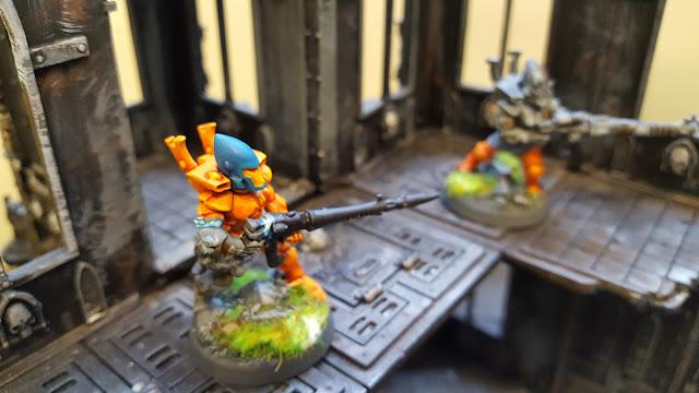 aeldar eldar guardian ranger conversion paint scheme camo cloak field warhammer 40k 40000 40,000