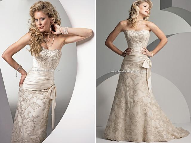vestidos de noiva marfim ou nude