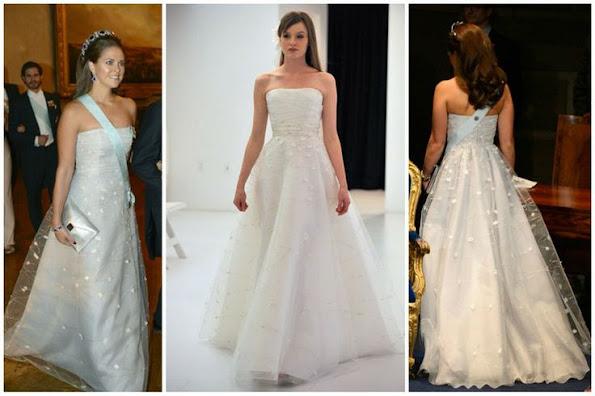 Ángel Sánchez is a Venezuelan fashion designer. Princess Madeleine wore a new gown by Angel Sanchez
