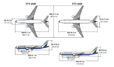 specs of boeing 777-200 and boeing 777-300