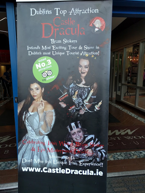 Castle Dracula Experience in Dublin - Poster