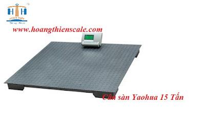 cân sàn yaohua 15 tấn cân giá rẻ