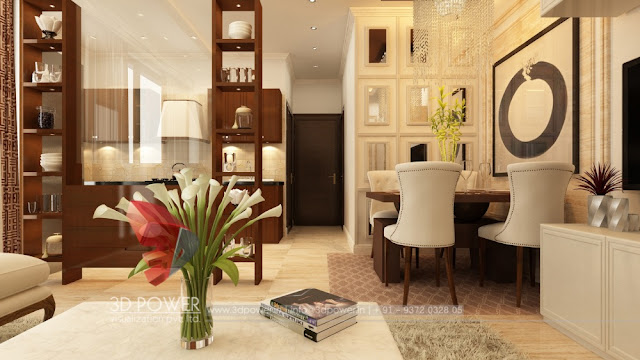 Imposing Interior Rendering Along with Interior Designing For Your Dream Home