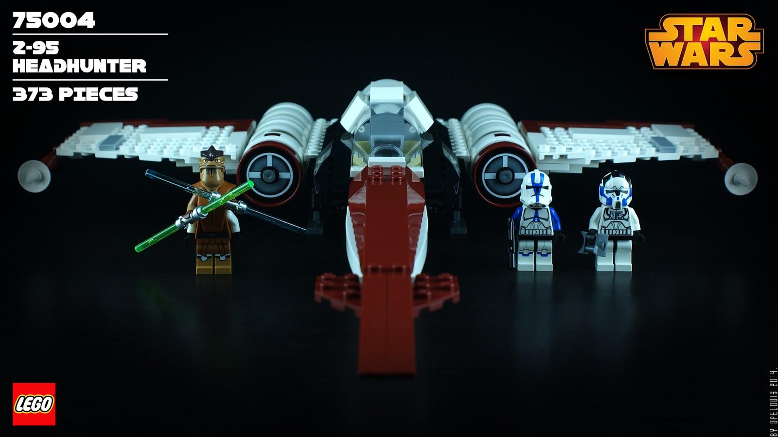 Z-95 Headhunter STICKER SHEET Star Wars LEGO 75004