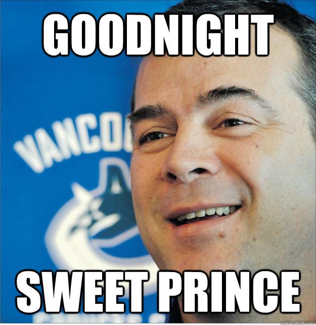 Funny Good Night Sweet Prince Meme Image