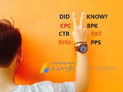 Blogger Harus Tahu Apa itu CTR, RKT, CPC, BPK, PPS? dan Instilah Google Adsense lainnya