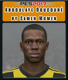 PES 2017 Faces Abdoulaye Doucouré by Sameh Momen