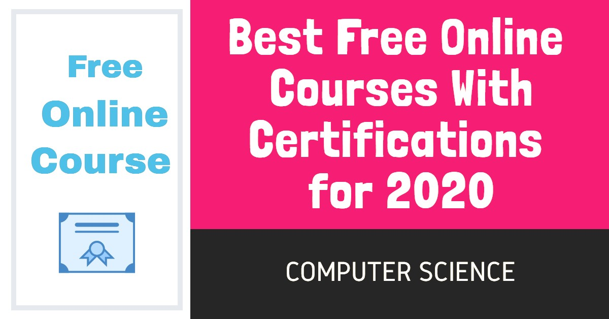 Best free online certification course