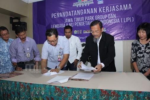 Makin Mantap, Jatimpark Gandeng LIPI Bangun Fasilitas Edukasi  http://www.malanglife.com/2017/04/makin...