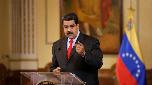 """Maduro tacha de """"vergüenza"""" lo que ocurre en Cataluña"""