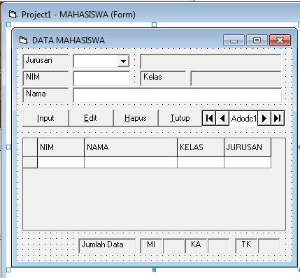 source coding program Pembayaran SPP di vb6