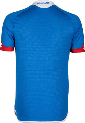 dcc35a1a8a This is the new 1899 Hoffenheim 15-16 Home Shirt by Lotto.