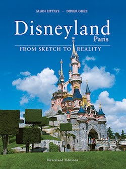 DISNEYLAND PARIS BOOK LAST COPIES