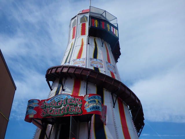 Helter skelter on Brighton Pier