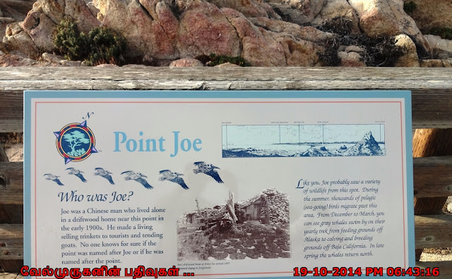 Point Joe in 17 Mile Drive