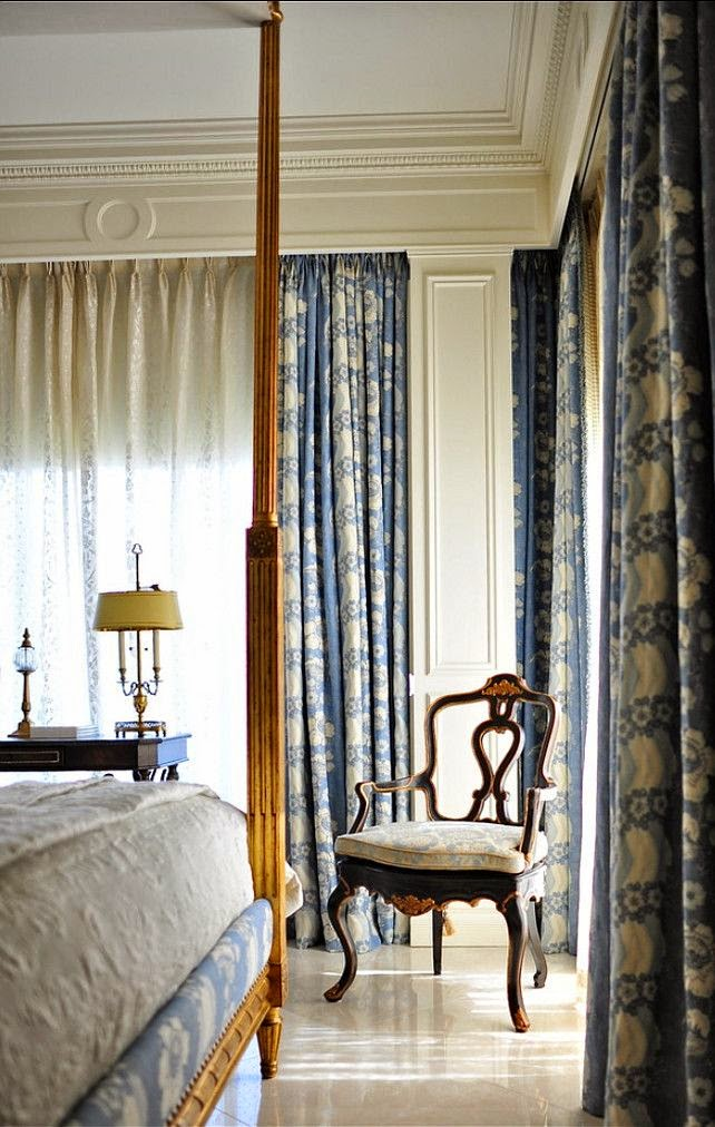 Design Traditional Blue Bedrooms