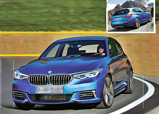 2019 BMW 1 Series Hatchback Rendered