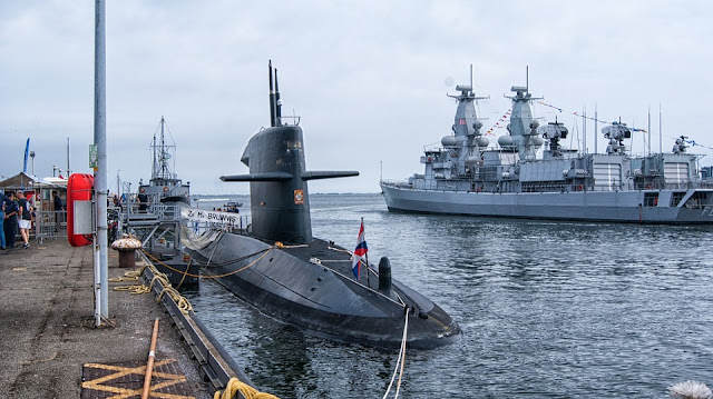 Image: Submarine in the Quay, by Michel van der Vegt on Pixabay