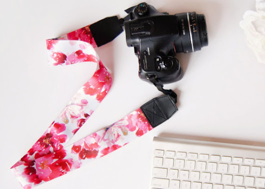 Cutest Camera Strap Ever ~ Lola & Lane
