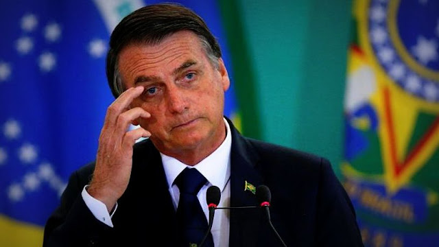 """Bolsonaro teme que, si vuelve el kirchnerismo, Argentina sea """"otra Venezuela"""""""