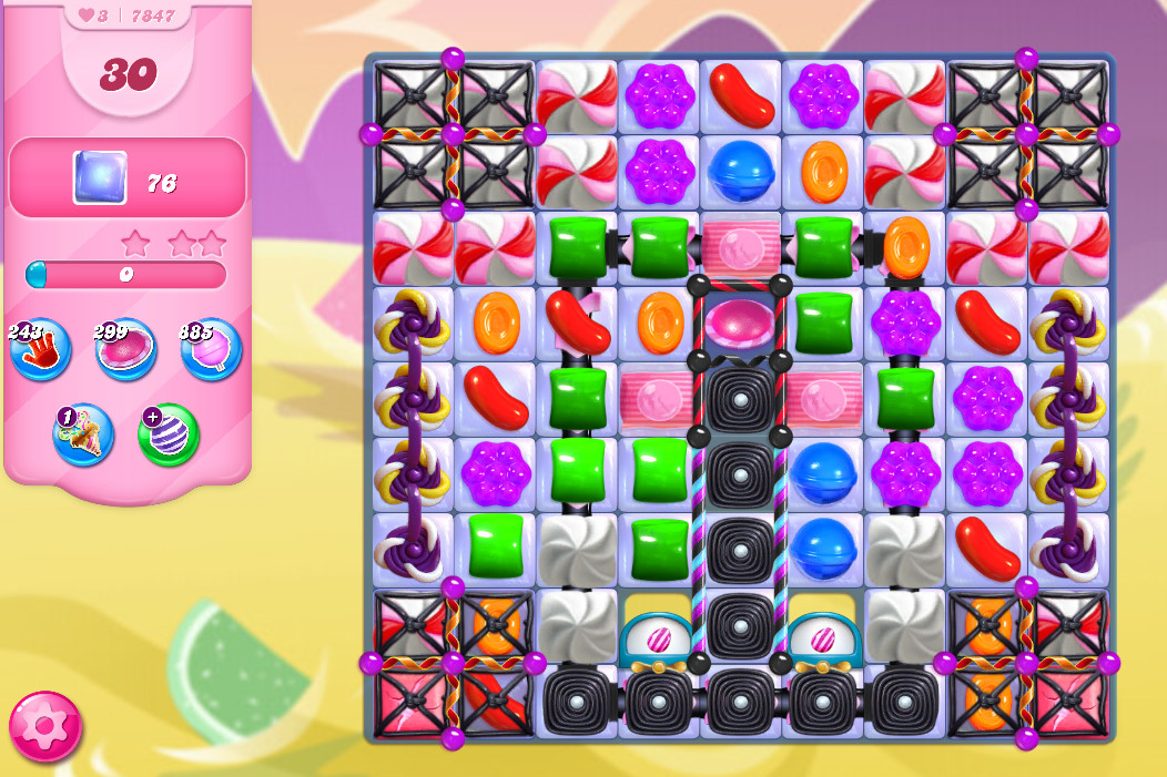 Candy Crush Saga level 7847
