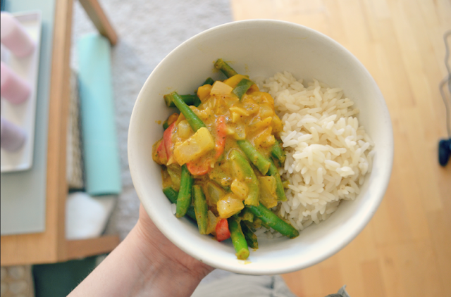 My basic vegan curry recipe