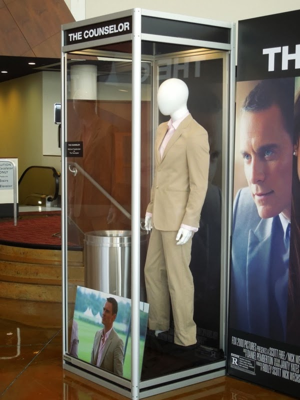 Michael Fassbender The Counselor costume