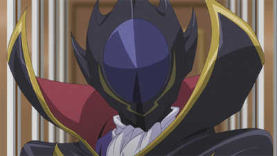 lelouch lamperouge code geass masked anime character