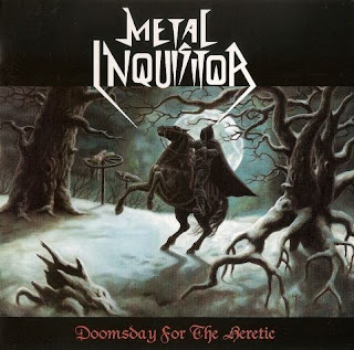 "Ακούστε τον δίσκο των Metal Inquisitor ""Doomsday for the Heretic"""