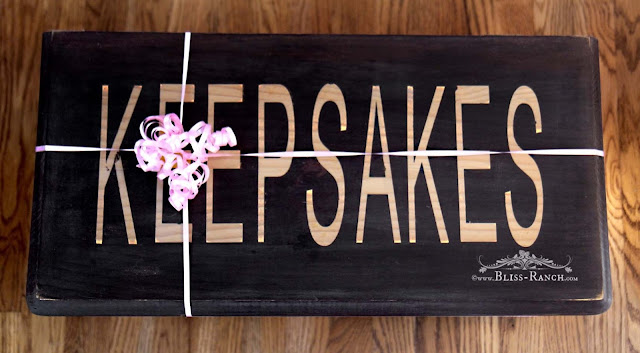 Keepsake Box Painted with Country Chic Paint, Bliss-Ranch.com