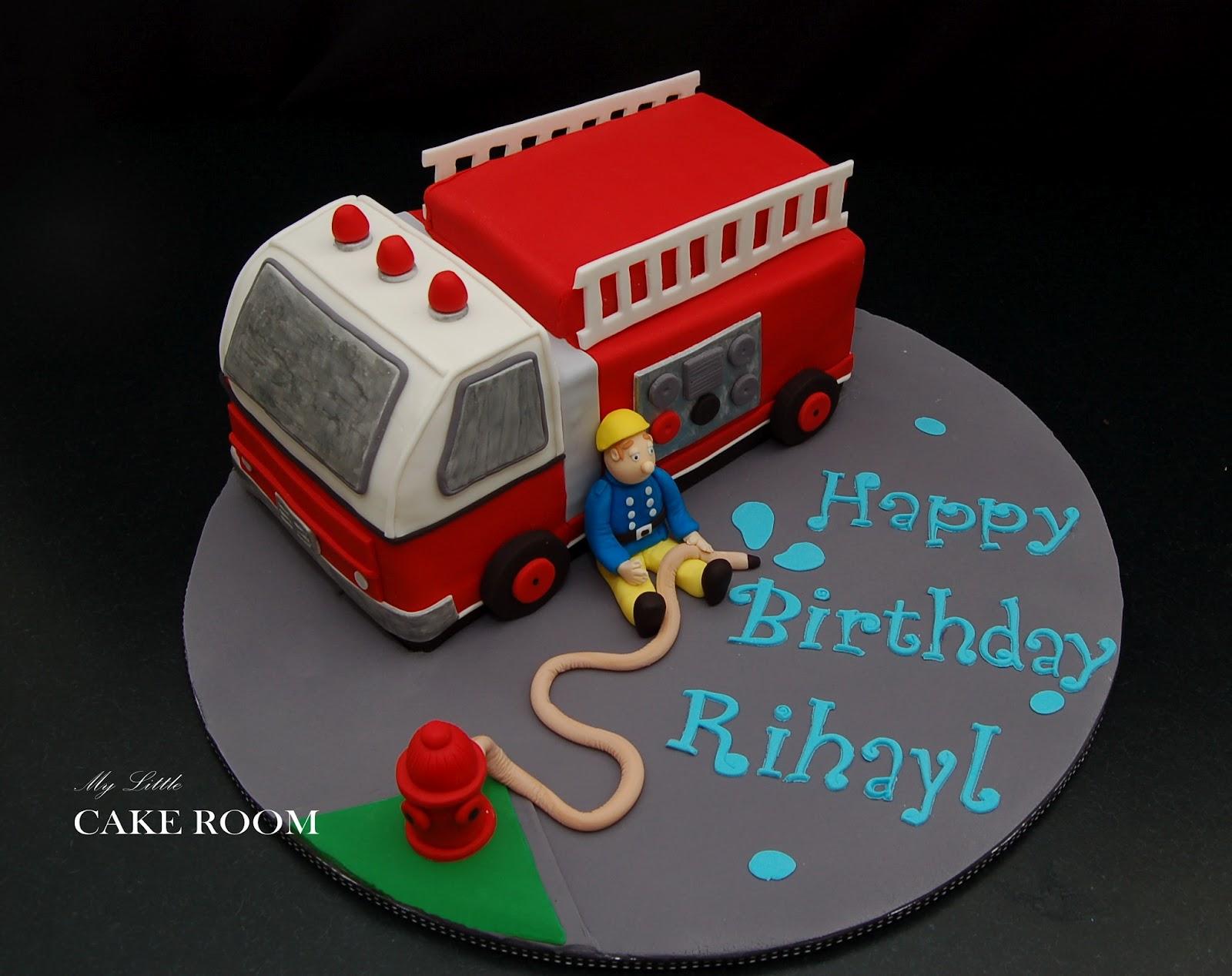 My Little Cake Room Fireman Sam