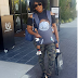 Uche Jombo carries her son in lovely new photo