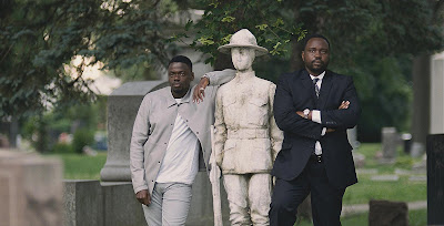 Widows 2018 movie still Viola Davis Daniel Kaluuya Brian Tyree Henry