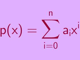 Suku Banyak (Polynomial)