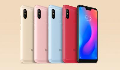 Redmi Note 6 Pro Colors