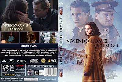 CARATULA VIVIENDO CON EL ENEMIGO - AFTERMATH - 2019 [COVER DVD]