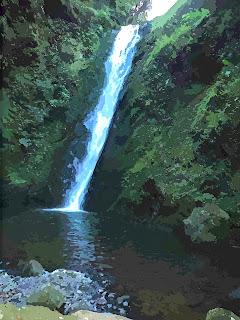 Cachoeira Ravina no Parque das 8 Cachoeiras, em São Francisco de Paula
