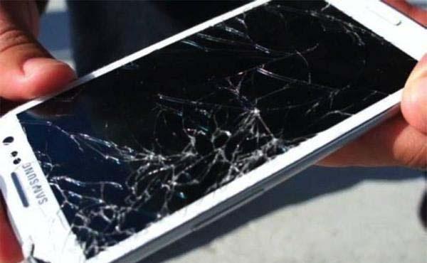 vỡ mặt kính Samsung Galaxy Note 2