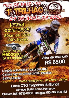 TRÊS DE MAIO-RS, 24 Abr 16