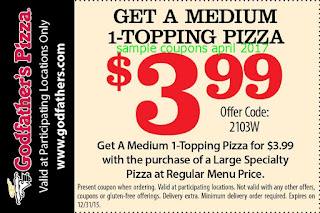 free Godfathers Pizza coupons for april 2017