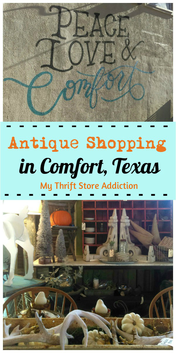 Antiques in Comfort, Texas