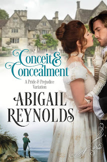 Book Cover: Conceit and Concealment by Abigail Reynolds