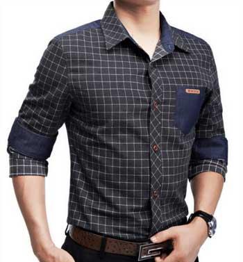 Model baju casual kemeja pria 2