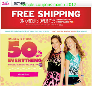 free Grocery coupons march 2017