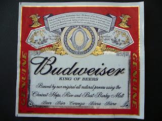 american beer budweiser