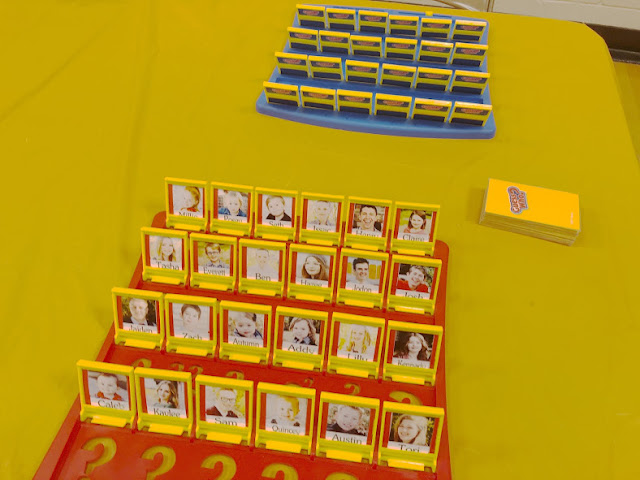 Personalized Guess Who Family Game