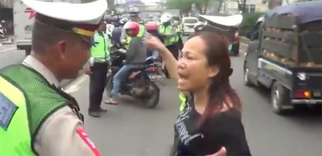 Driver Ojek Online dan Emak-emak yang Marahin Polisi Lantaran Razia Bakal Diadili, Begini Nasibnya