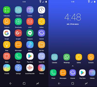 Galaxy S8 - Icon Pack Apk (BETA) Keren!!!
