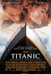 Poster original de Titanic