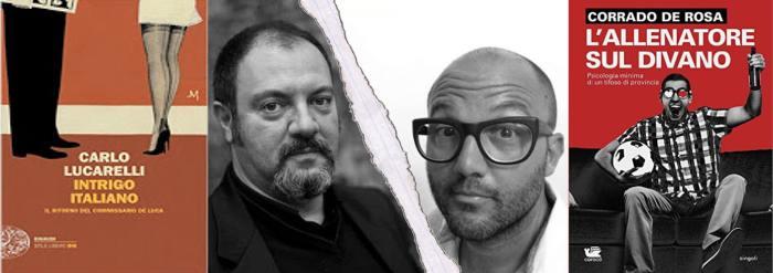 Intrigo-italiano-Carlo-Lucarelli-L-allenatore-sul-divano-Corrado-De-Rosa-mini-recensioni